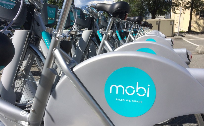 Shiny new Mobi bikes